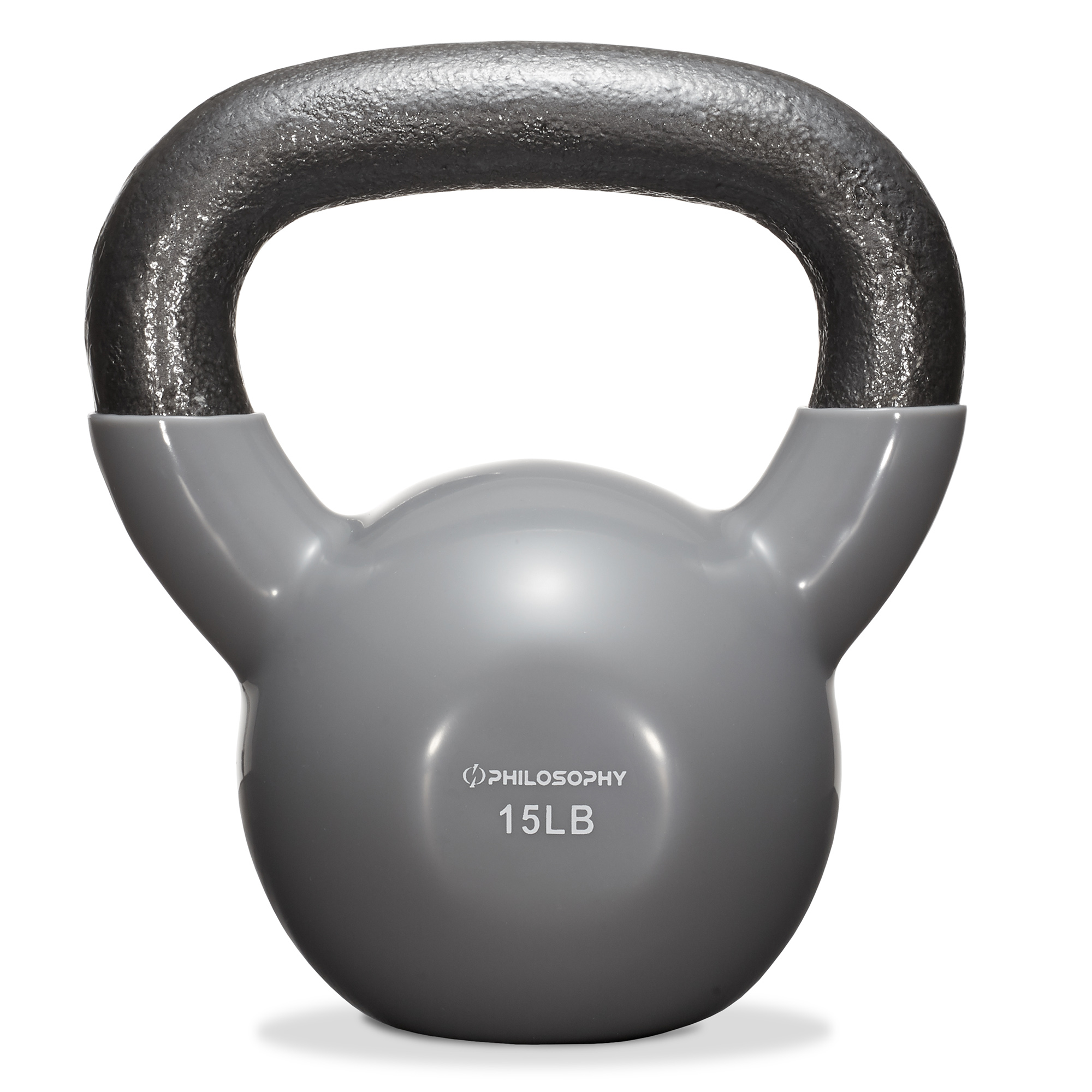 thumbnail 14 - Vinyl Coated Cast Iron Kettlebell, 5 lbs to 50 Pound Weights
