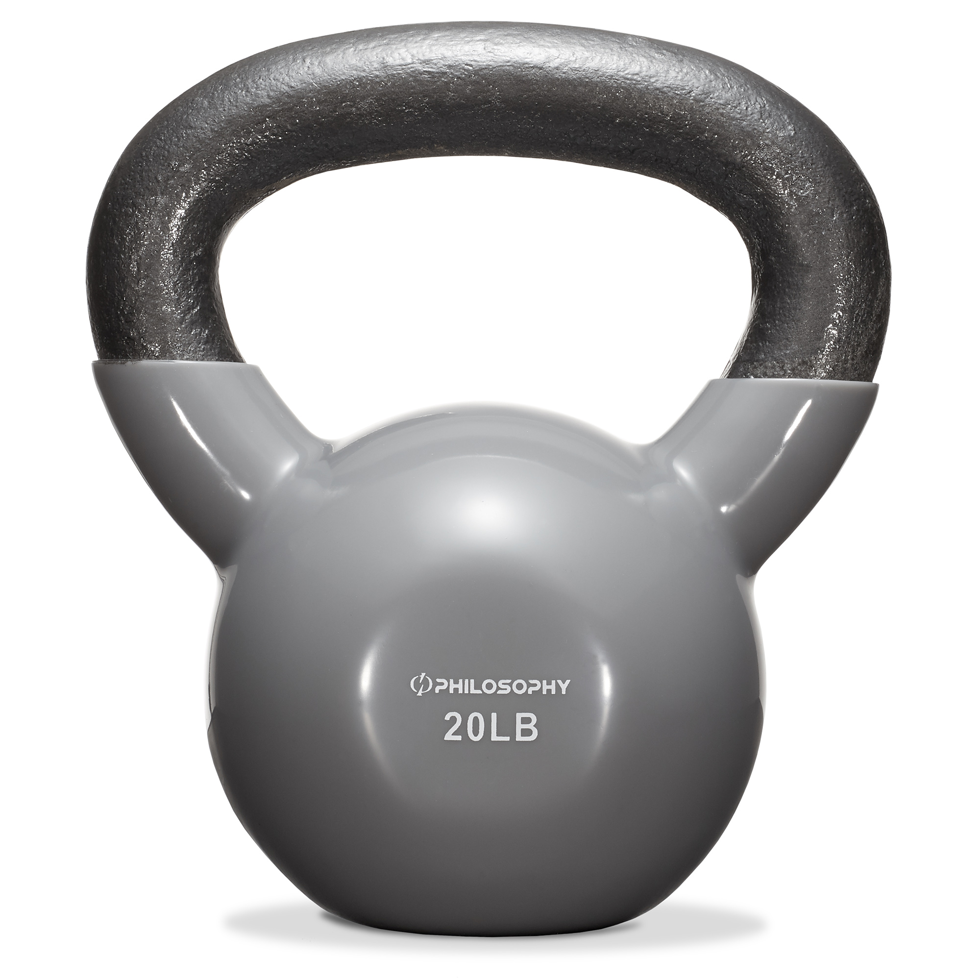 thumbnail 25 - Vinyl Coated Cast Iron Kettlebell, 5 lbs to 50 Pound Weights