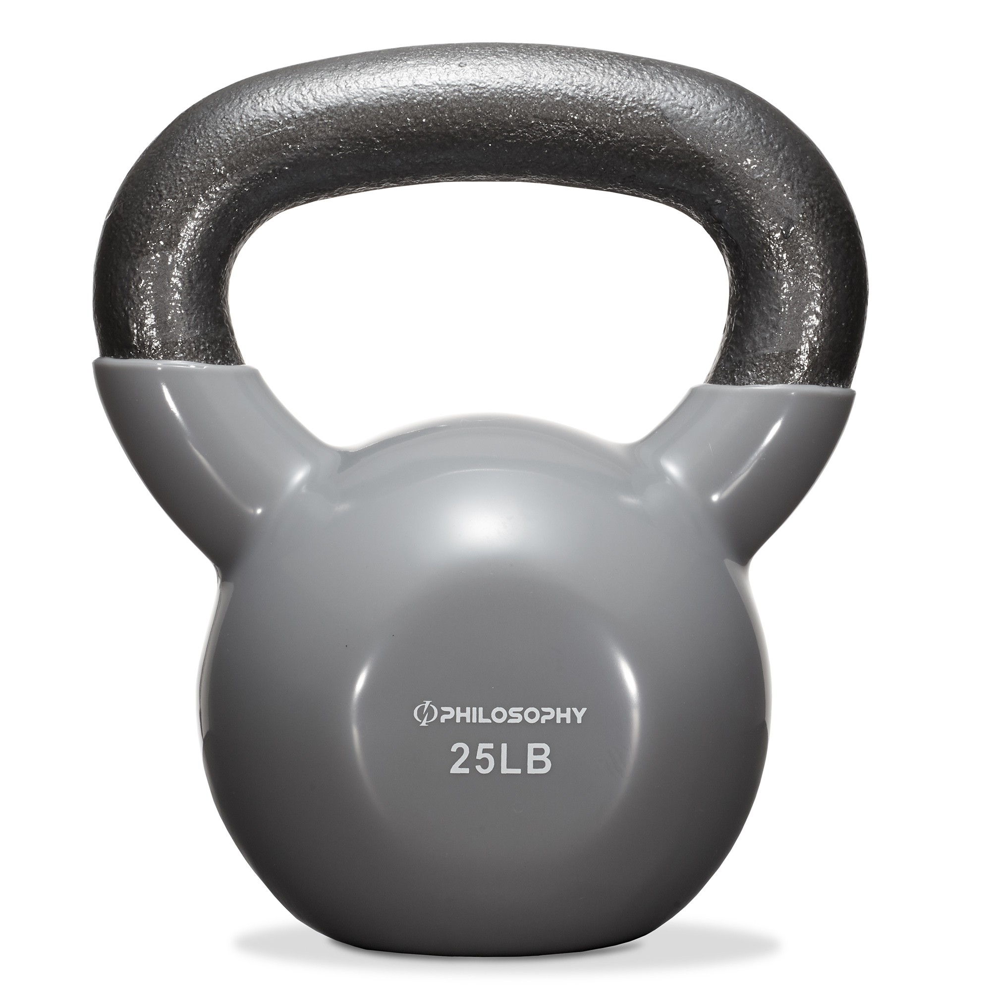 thumbnail 36 - Vinyl Coated Cast Iron Kettlebell, 5 lbs to 50 Pound Weights