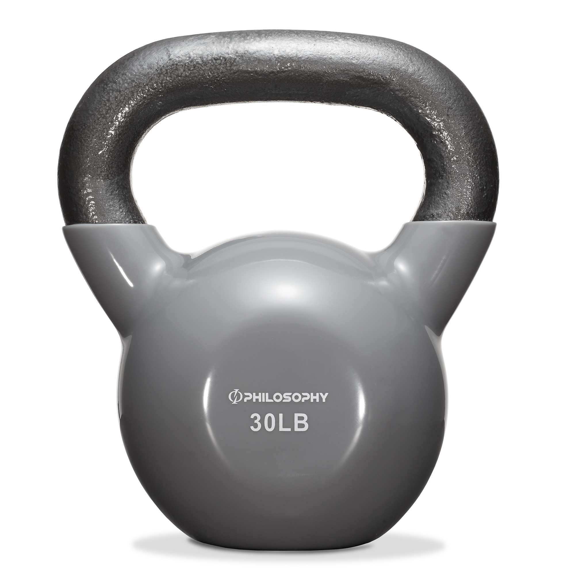 thumbnail 47 - Vinyl Coated Cast Iron Kettlebell, 5 lbs to 50 Pound Weights