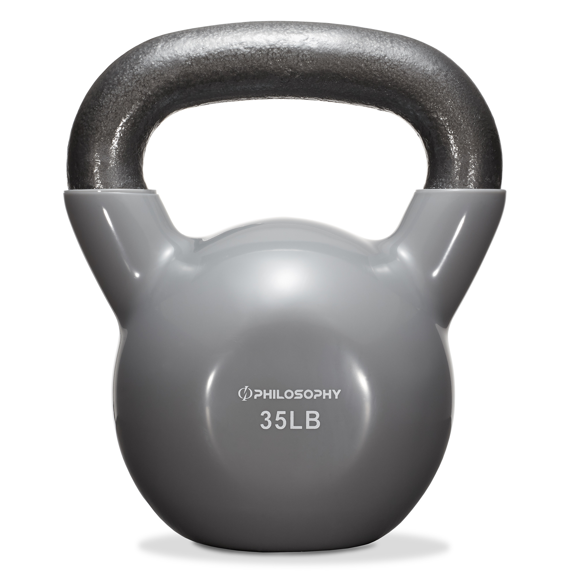 thumbnail 58 - Vinyl Coated Cast Iron Kettlebell, 5 lbs to 50 Pound Weights