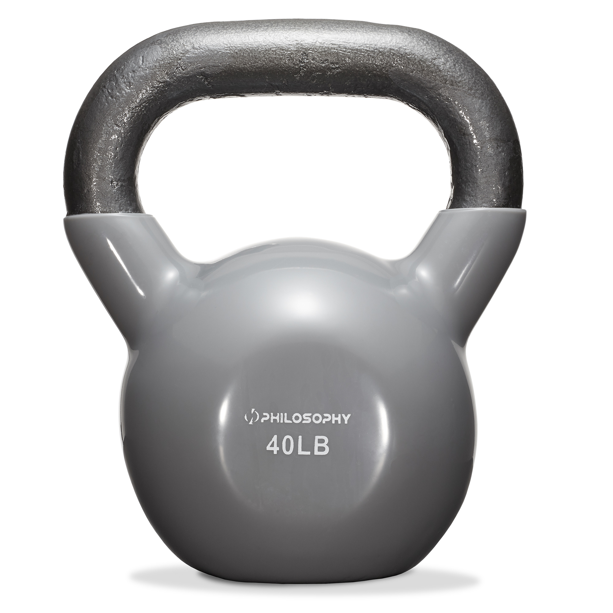 thumbnail 69 - Vinyl Coated Cast Iron Kettlebell, 5 lbs to 50 Pound Weights