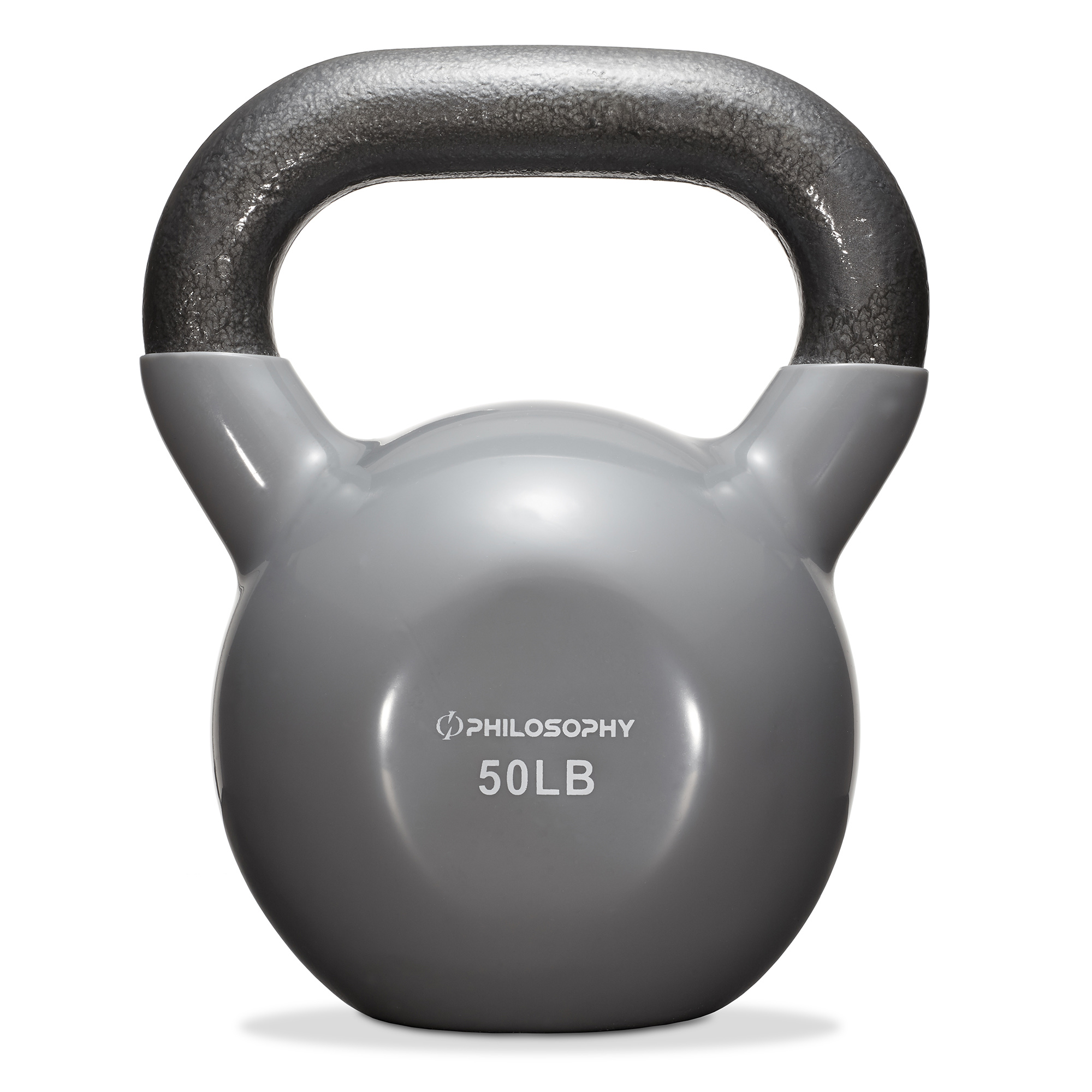 thumbnail 102 - Vinyl Coated Cast Iron Kettlebell, 5 lbs to 50 Pound Weights