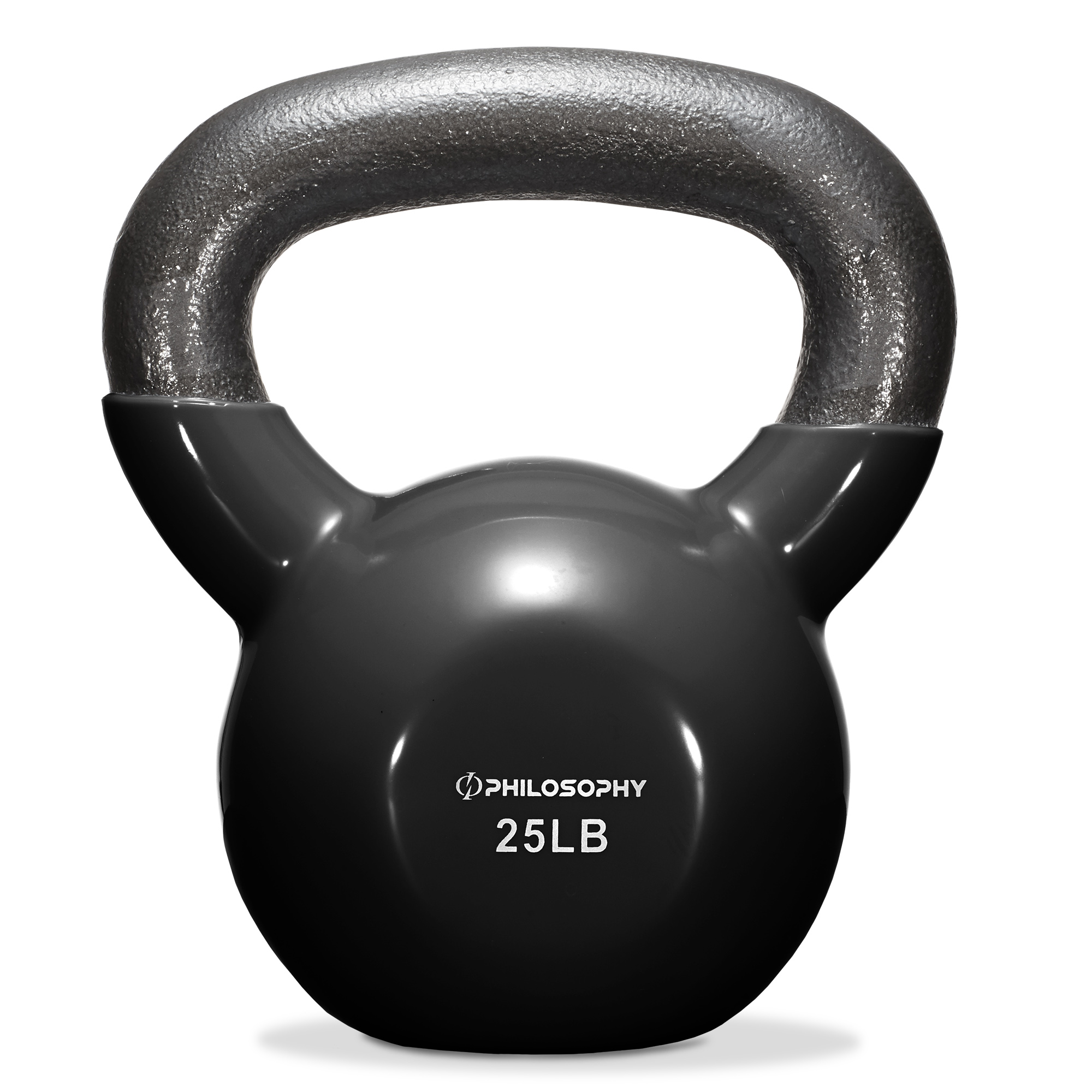 thumbnail 42 - Vinyl Coated Cast Iron Kettlebell, 5 lbs to 50 Pound Weights