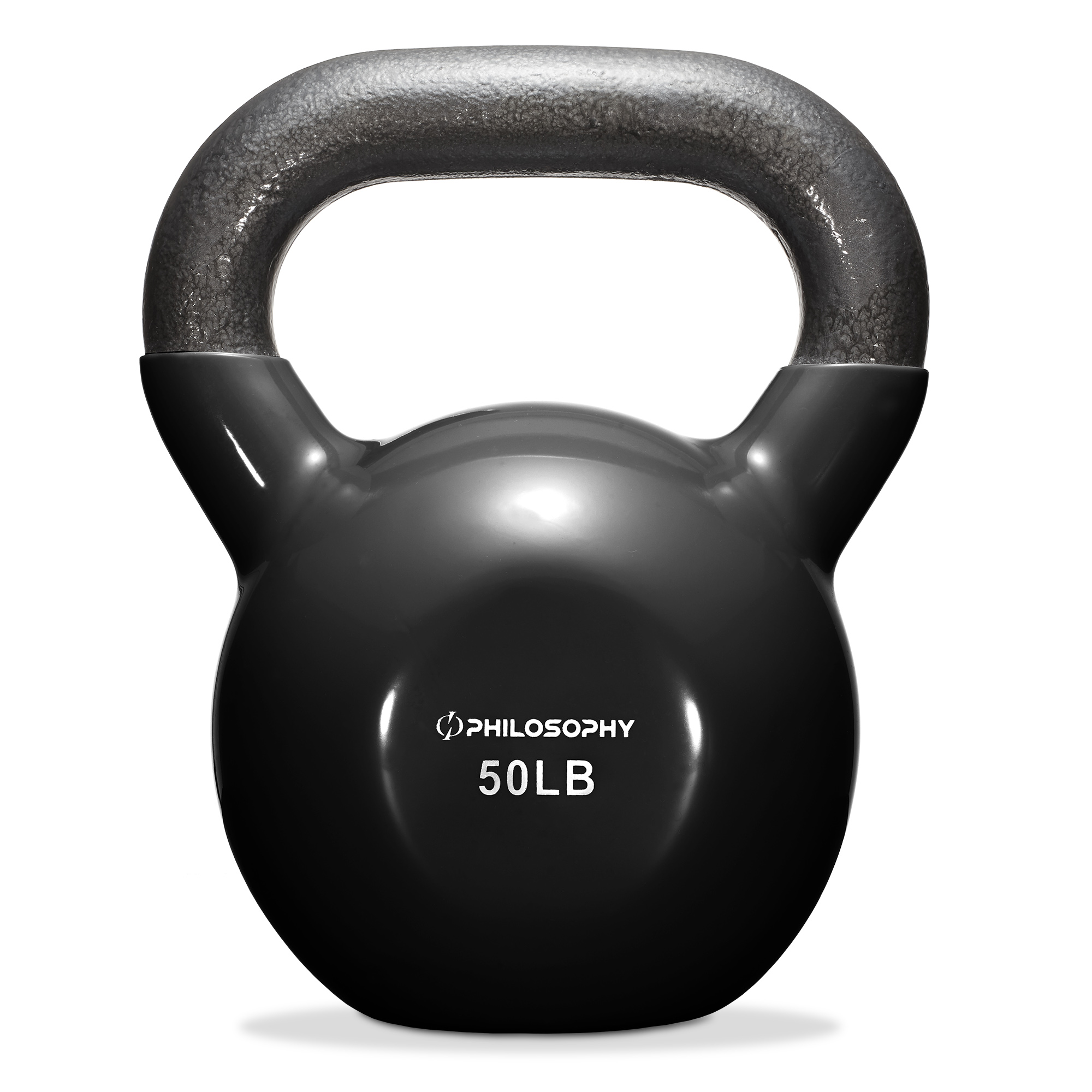 thumbnail 108 - Vinyl Coated Cast Iron Kettlebell, 5 lbs to 50 Pound Weights
