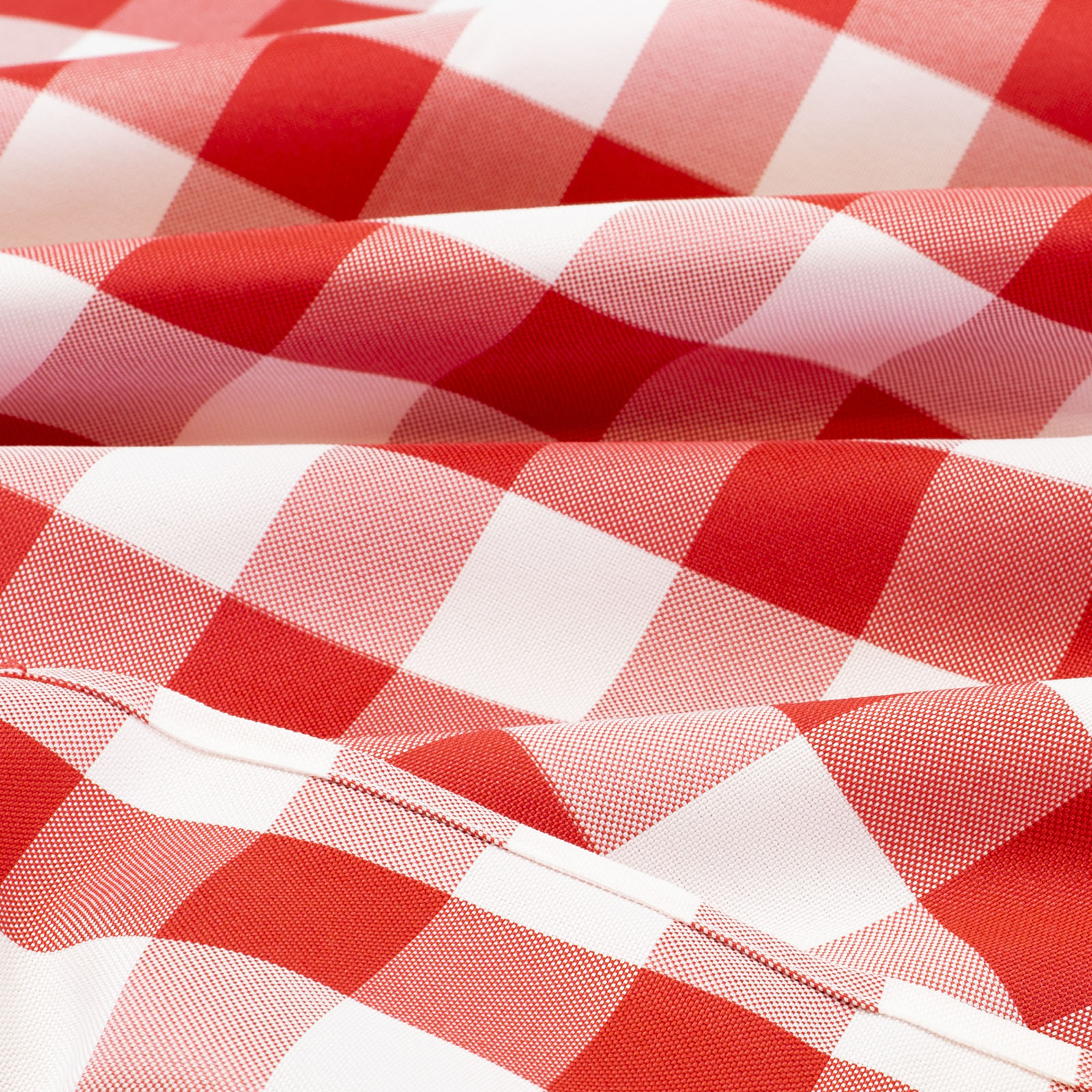 Red-and-White-Checkered-Tablecloth-Polyester-Picnic-Table- & Red and White Checkered Tablecloth Polyester Picnic Table Cover ...