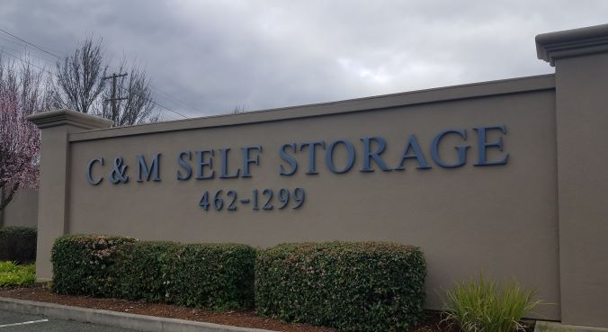 C Amp M Self Storage 297 Brush St Ukiah Ca 95482 Self Storage