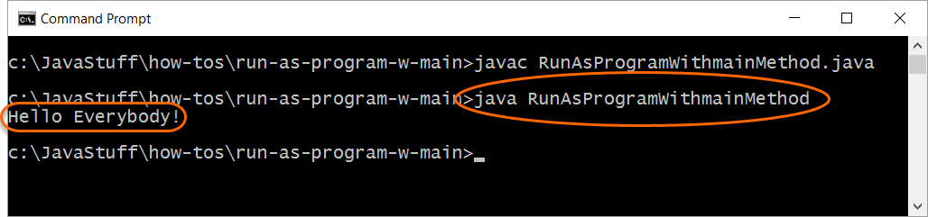 Run Java Runtime Launcher