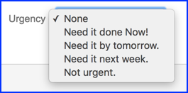 Urgency Field in JIRA
