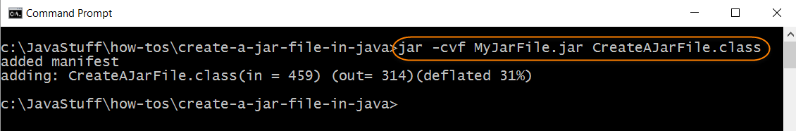 Run The Jar File Program