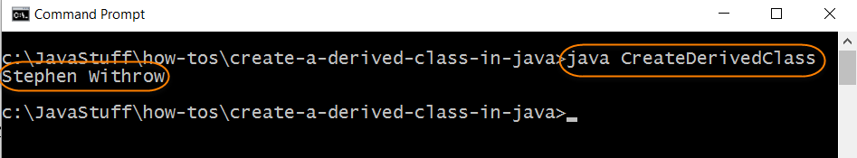Run Tester for Derived Class