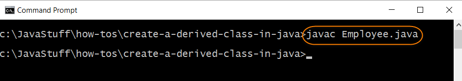 Compile Source for Derived Class