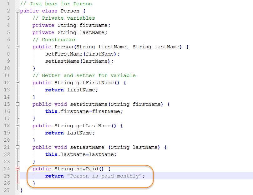 Java Source for Super Class