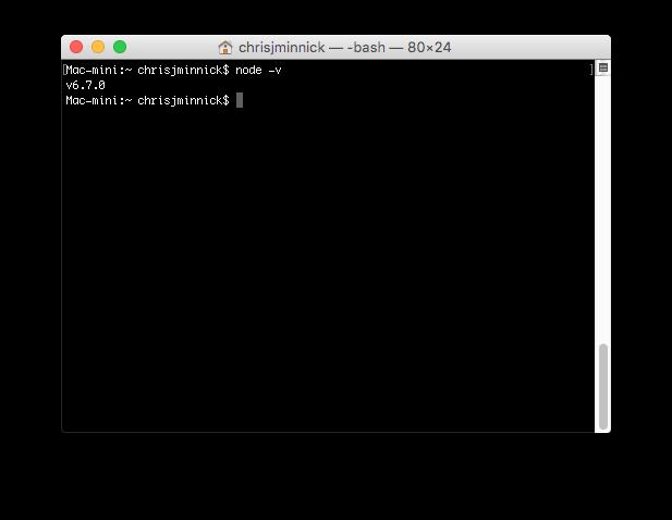 Testing Node.js
