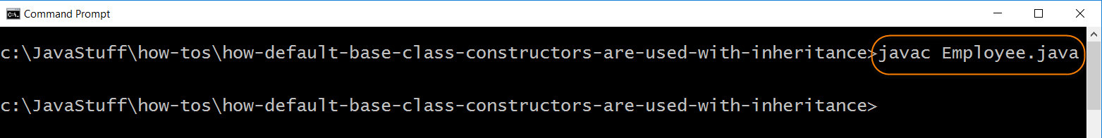 How Default Base Class Constructors Are Used with Inheritance