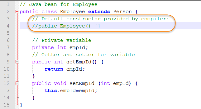 How Default Base Class Constructors Are Used with