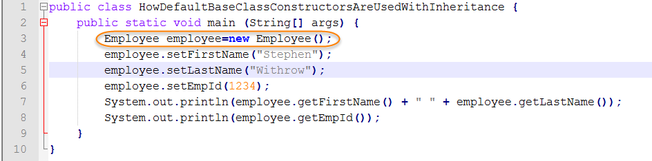 Java Source for Tester Class