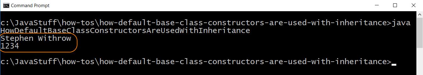 Run Tester for Derived Class