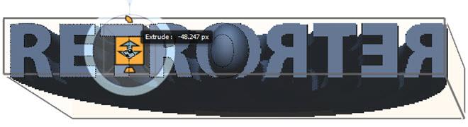 3D Deformed Text