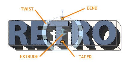 How to Create 3D Extruded Text in Adobe Photoshop | Webucator