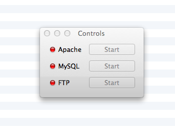 Starting XAMPP on a Mac
