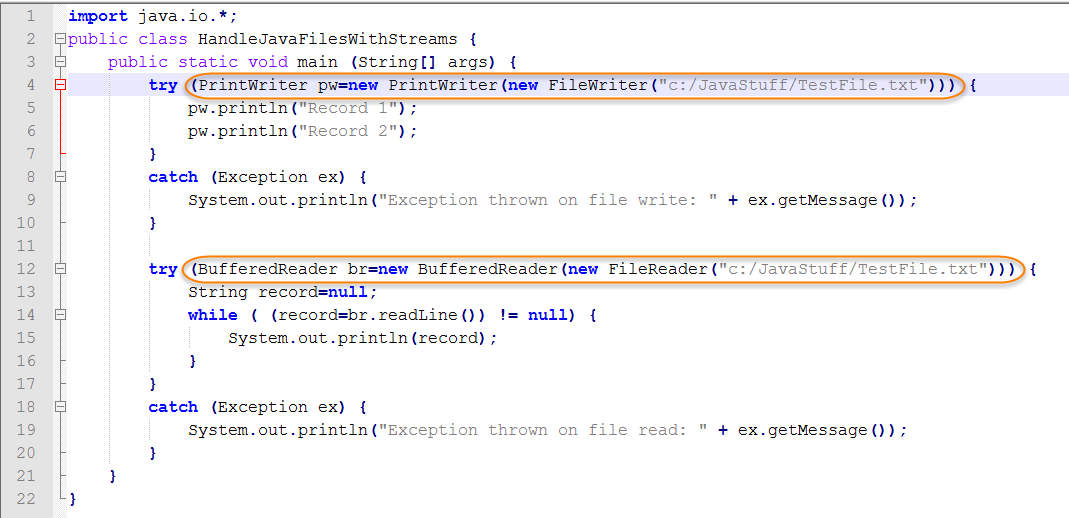 How to Handle Java Files with Streams | Webucator