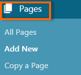 Pages Option