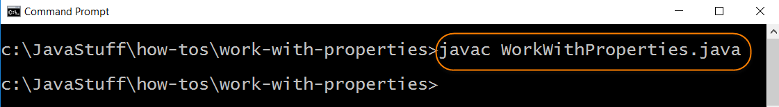 Compile Properties