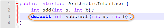 Interface With Default Method Second Method
