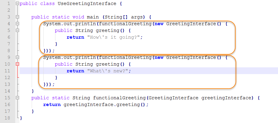 Java Source for Test Functional Interface