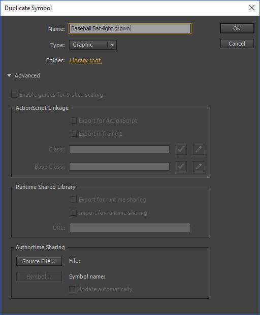 Duplicate Symbol Dialog Box