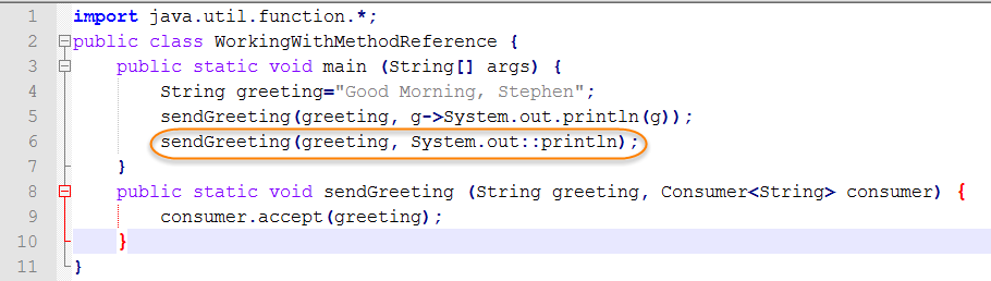 Java Source for Method Reference