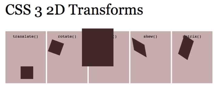 CSS Transforms Applied