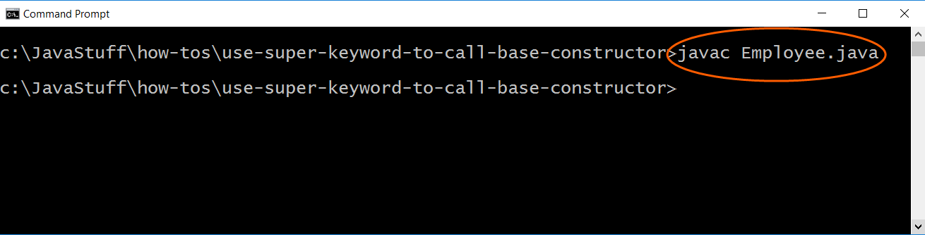 How to Use the super Keyword to Call a Base Class Constructor in