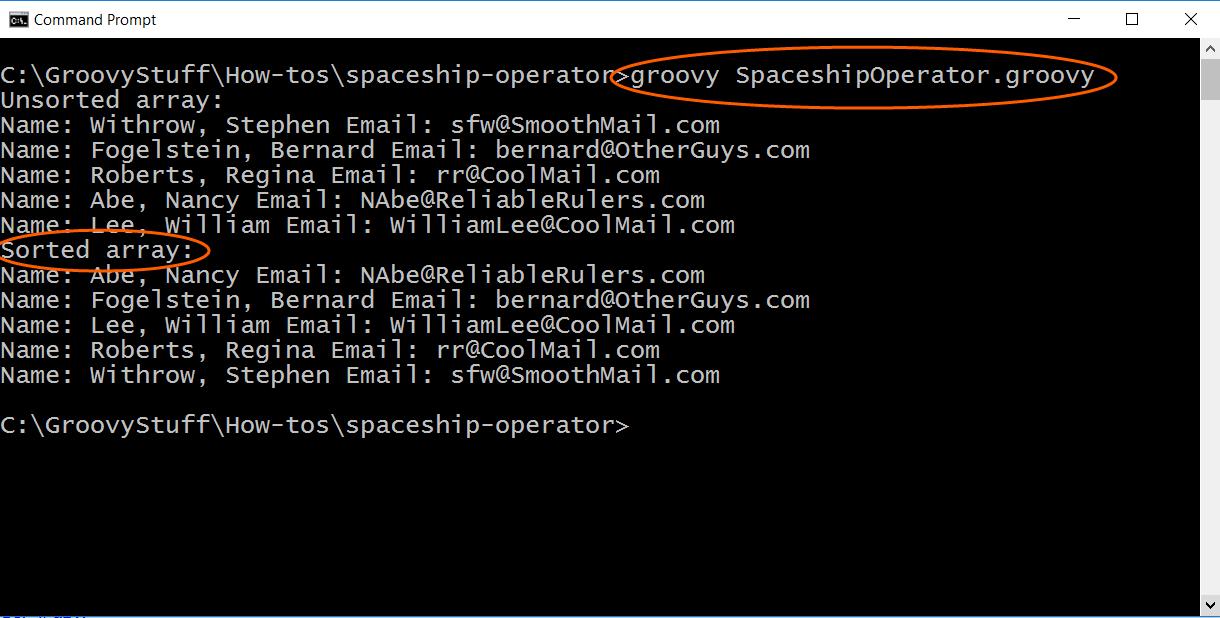 Run Spaceship operator script