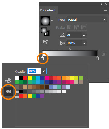 How to Use the Gradient Tool in Adobe Illustrator | Webucator