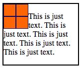 float left example