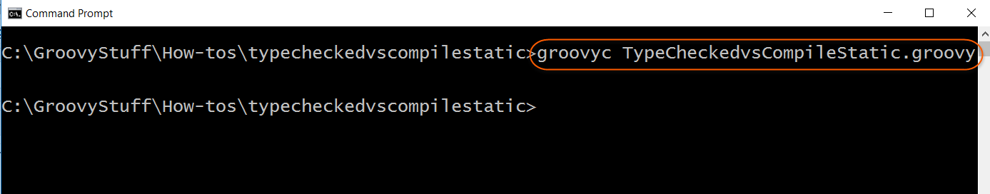 Compile script without error