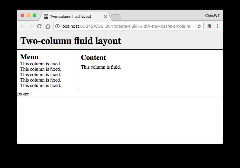2-column fluid