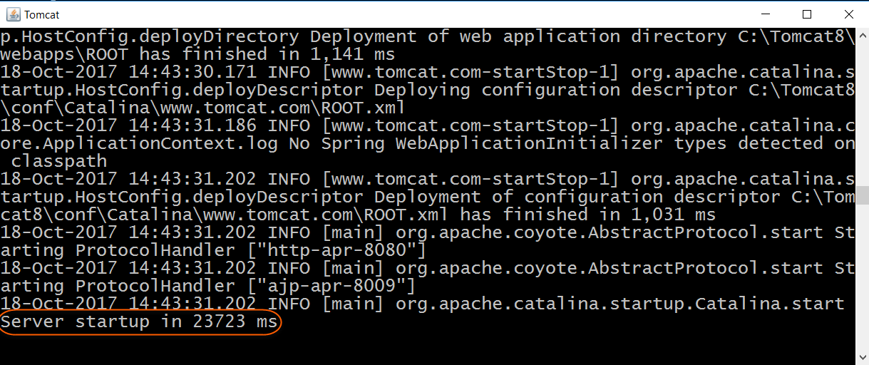 How to Start and Stop Apache Tomcat from the Command Line (Windows