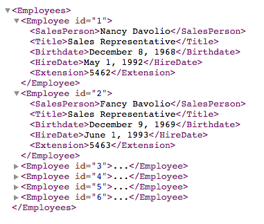 How to Dynamically Populate an HTML Table with XML Data