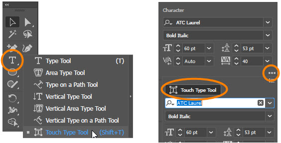 Touch Type Tool