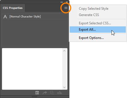 CSS Properties Panel