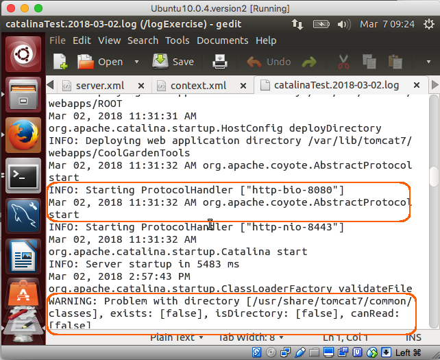 How to Use the Java Logging API in Apache Tomcat (Linux