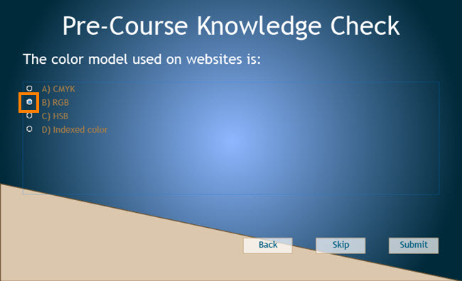 Knowledge Check Slide