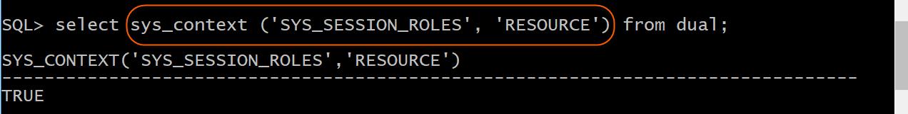 Verify Resource role