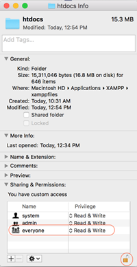 How to install, start and test XAMPP on Mac OSX | Webucator