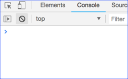Chrome Console Cleared