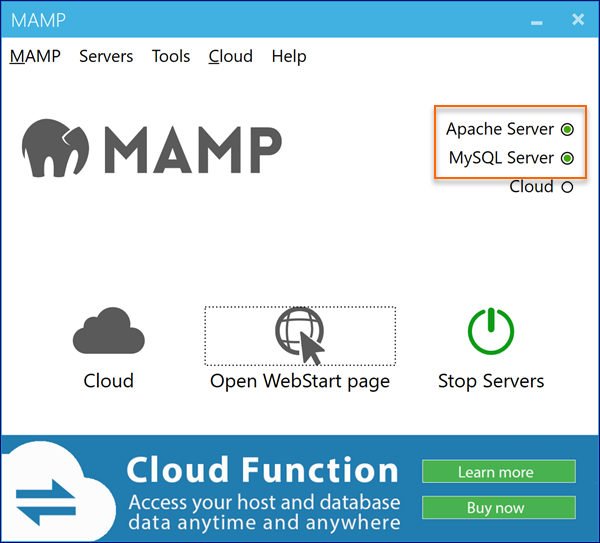 How to install, start and test MAMP on Windows | Webucator
