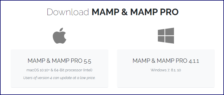Download MAMP